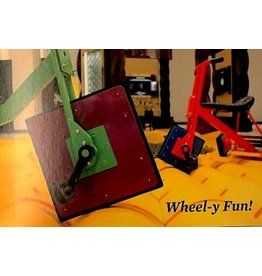 TRIN Wheel-y Fun Postcard