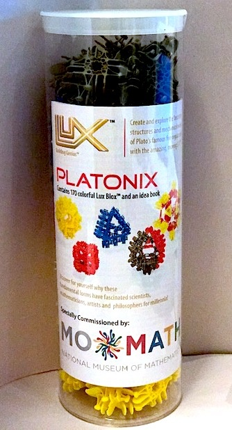 GATO MoMath Platonix Build Set - 170 Piece Set   LUX