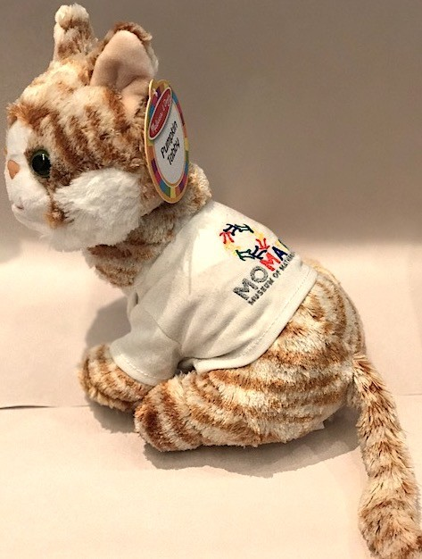 GATO Tabby Cat with MoMath Shirt