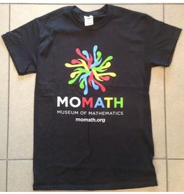 APPA/ACCES MoMath Pi T-Shirt, Black