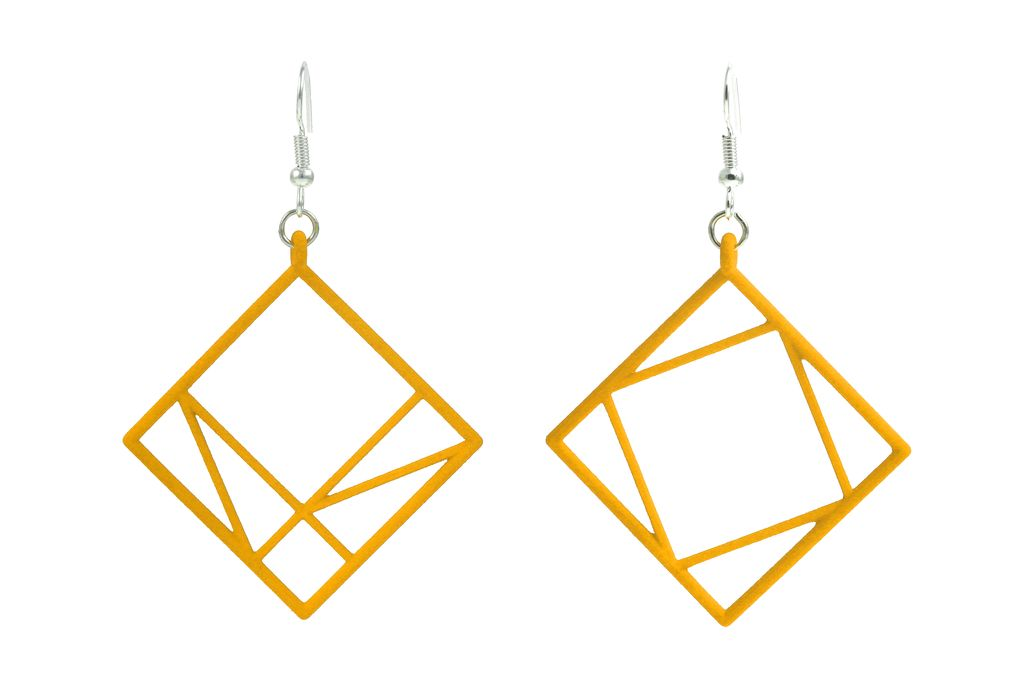 JEWE Cofactor Pythagorean Theorem Earrings