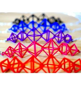 JEWE 3D Printed Interlocking Octahedron Necklace | Hanusa Design