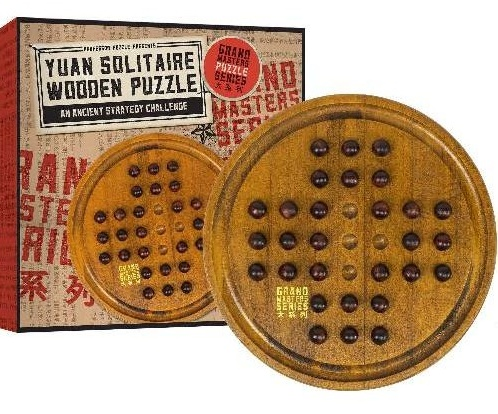 PUZZ Yuan Solitaire Wooden Puzzle