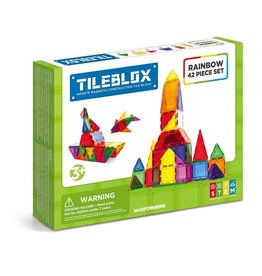GATO Tileblox 42Pc set - Rainbow