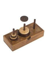 PUZZ The Tower of Hanoi Wooden Puzzle