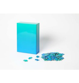 GATO Gradient Puzzle, 500 Pcs - Green/Blue