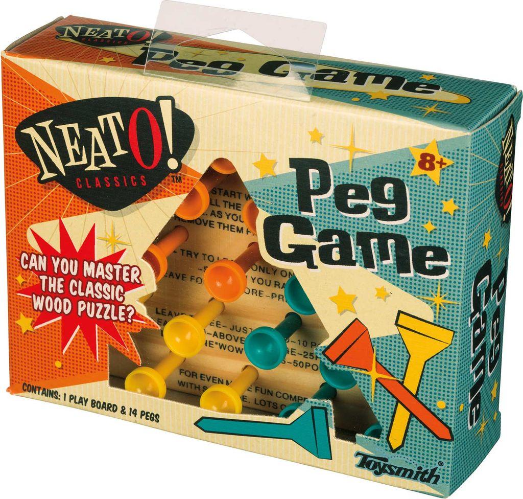 PUZZ Peg Game Puzzle