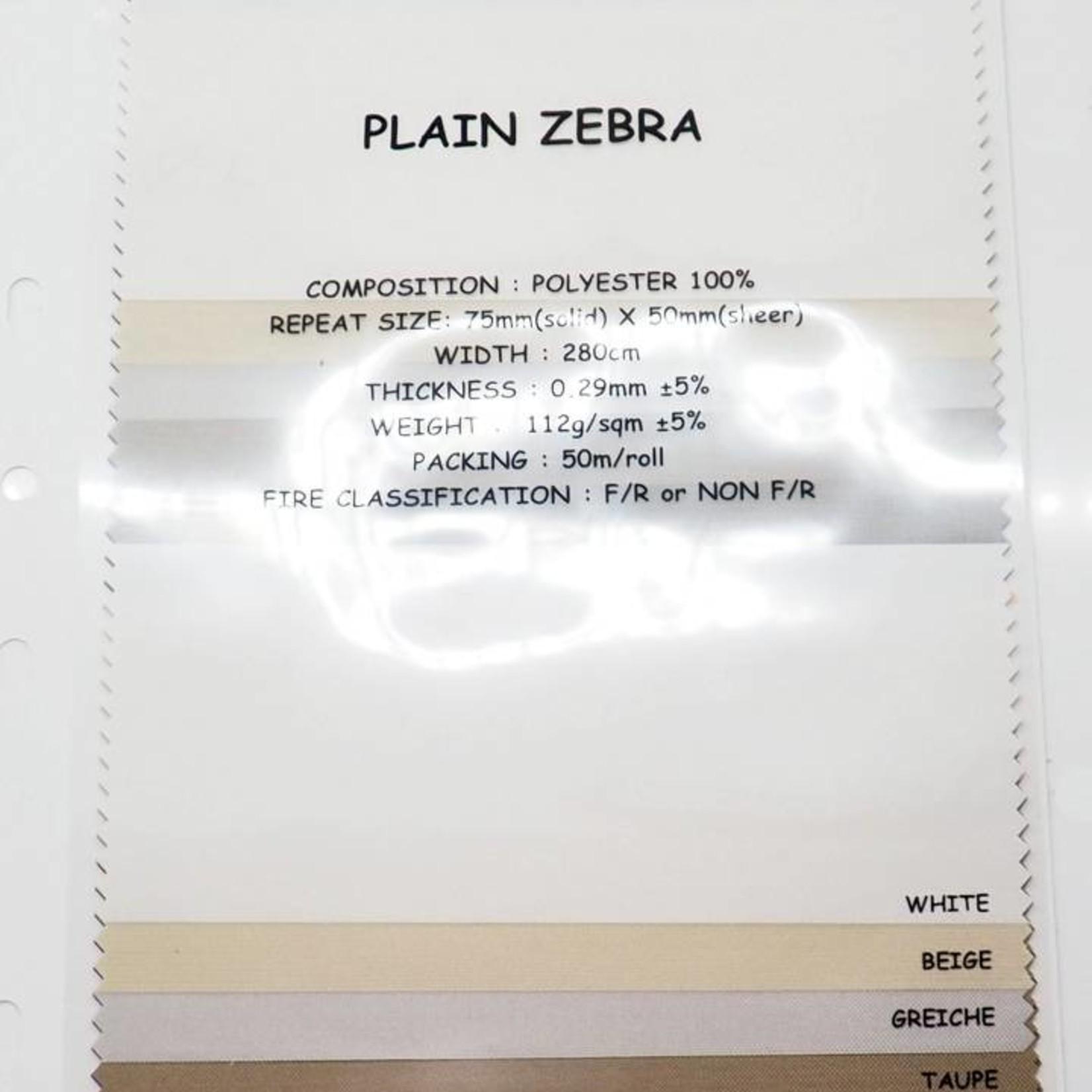 Trendy Blinds Combi Plain Zebra