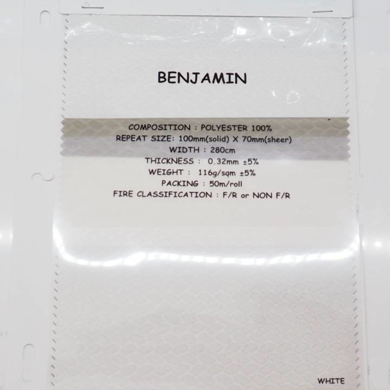 Trendy Blinds Combi Benjamin