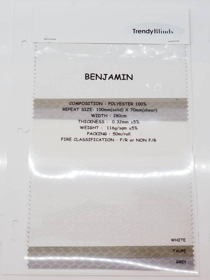 Trendy Blinds Combi Benjamin [CMTC-BN]