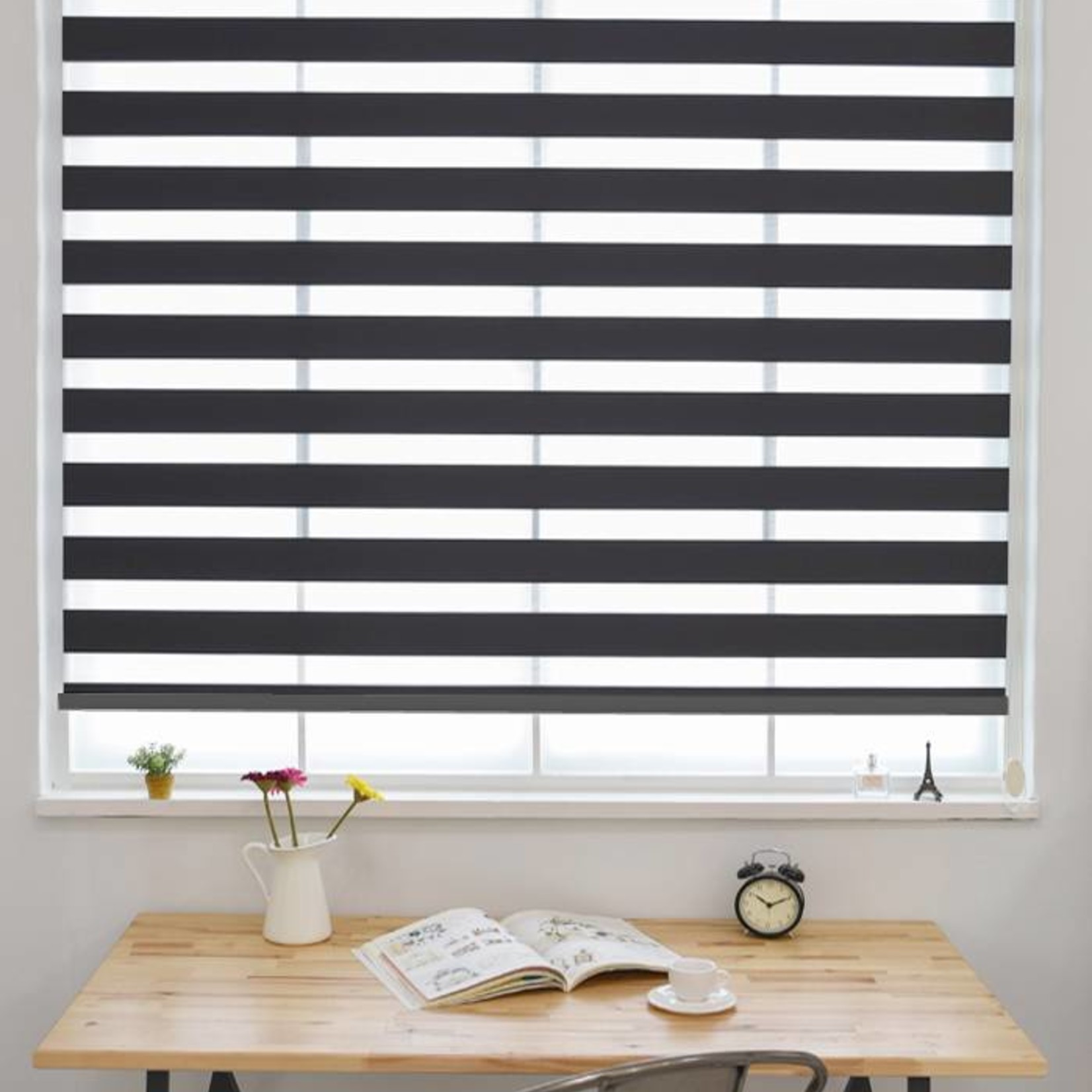 Trendy Blinds Combi Plain Zebra