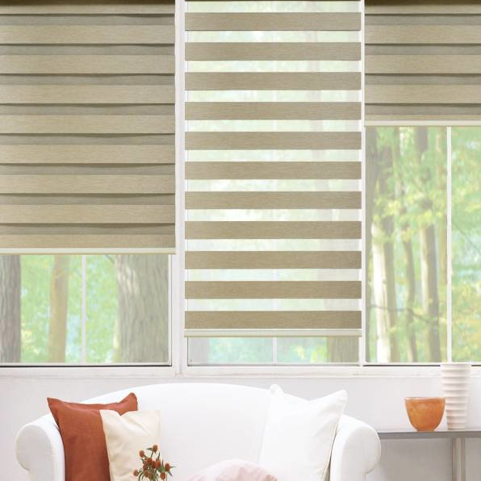 Trendy Blinds Combi Apollon BO room darkening