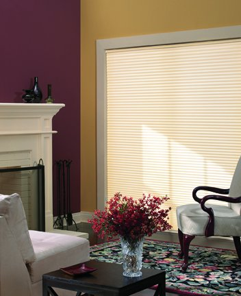 Graber 3/4 inch CrystalPleat Light Filtering Cellular Shades