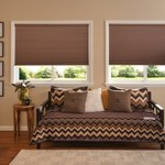 Graber 3/4 inch CrystalPleat Blackout Cellular Shades