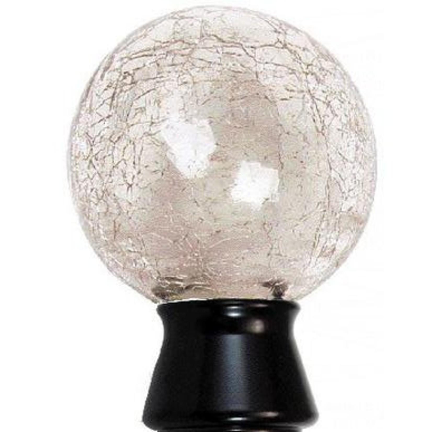 "Trendy Blinds Crackled Ball 1-1/8"" Ice Drapery Hardware Ensemble"