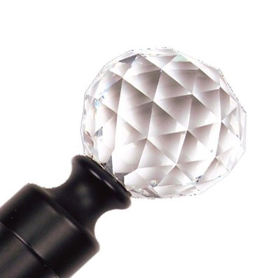 "Trendy Blinds Crystal Ball 1-1/8"" Ice Drapery Hardware Ensemble"