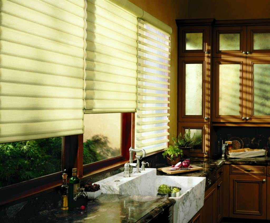 Hunter Douglas Pirouette Shades by Hunter Douglas