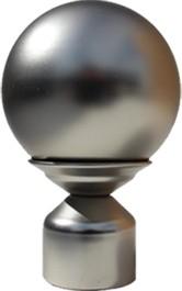 """Trendy Blinds Mayflower Ball 1-1/8"""" Drapery Hardware Ensemble (F4)"""