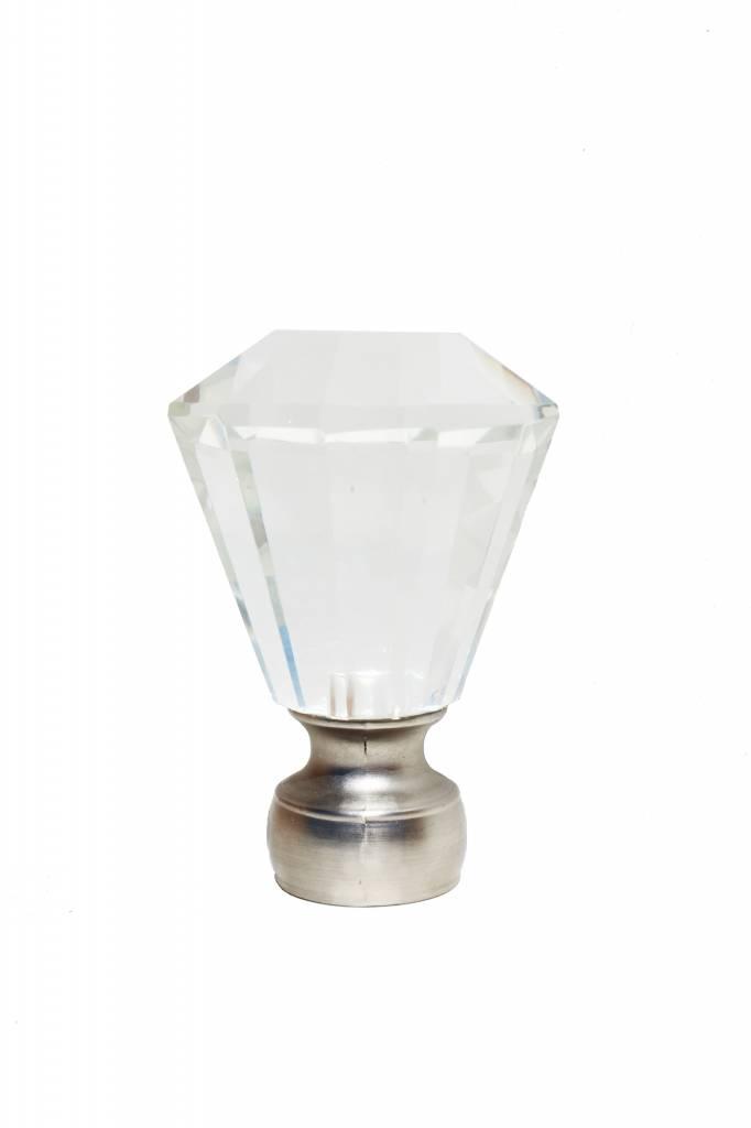 """Trendy Blinds Mayflower Diamond 1-1/8"""" Drapery Hardware Ensemble (F11)"""