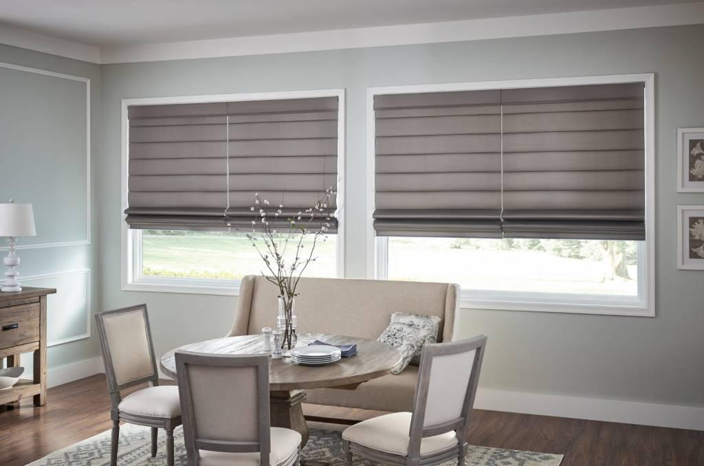 Fresco Flat Pleat Roman Shade Fabric Group D Trendy Blinds Inc