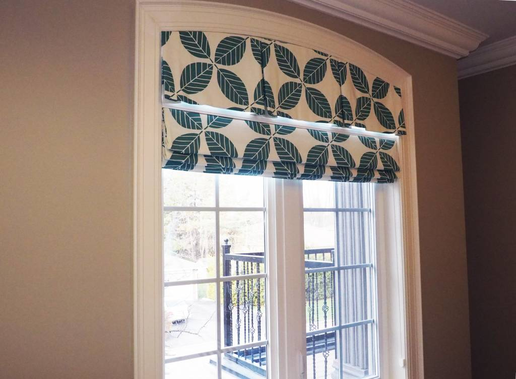 Trendy Blinds Tucked Roman Shade RT2
