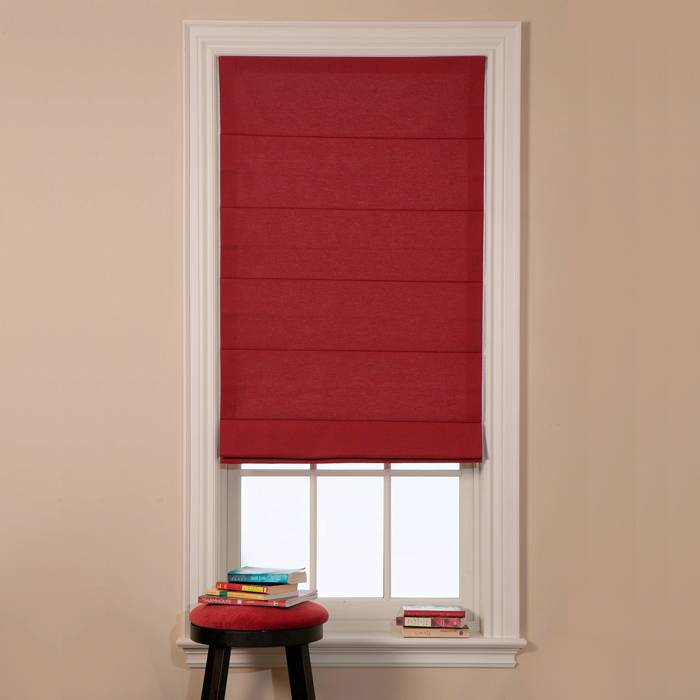 Trendy Blinds Tucked Roman Shade RT1