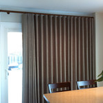 Trendy Drapery - DT DT-D-MW Modern Wave Drape Panel (Fabric Group D)
