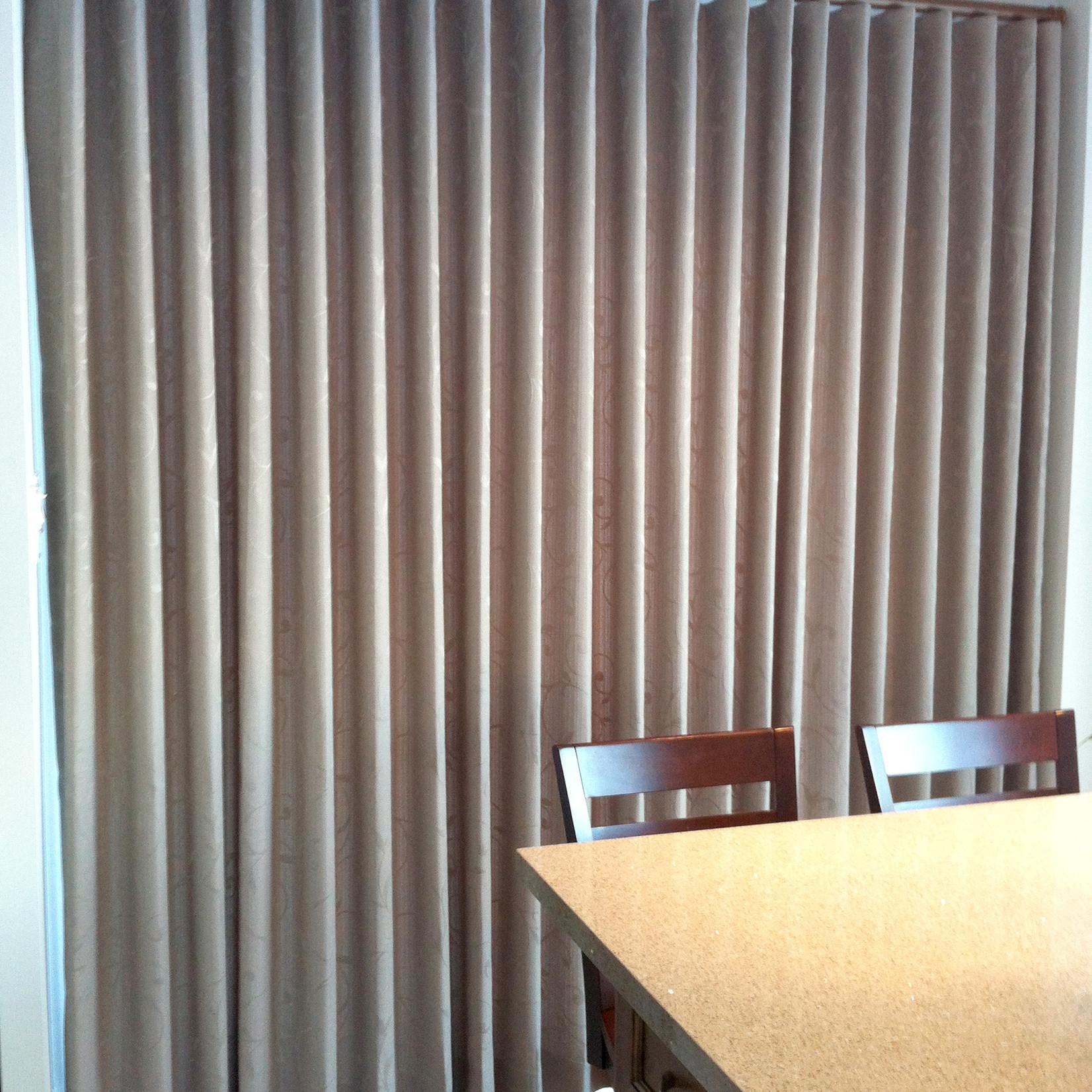 Trendy Drapery - DT DT-D-MW Modern Wave Drape Panel (Fabric Group D)