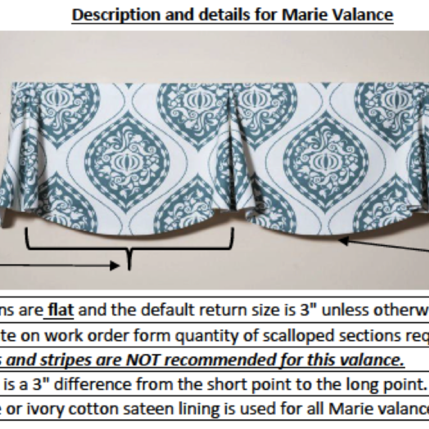 Trendy Drapery - DT Marie Valance