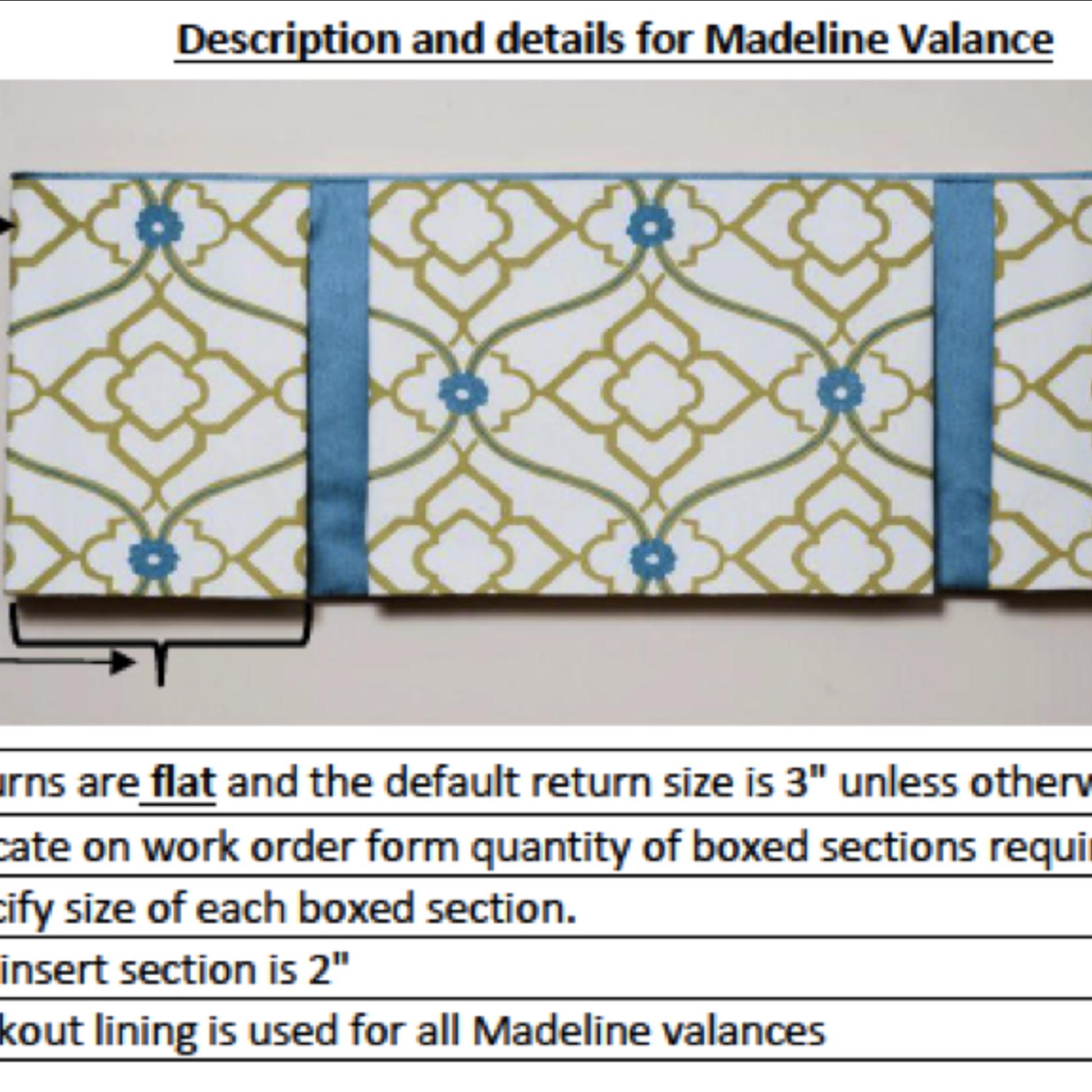 Trendy Drapery - DT Madeline Valance