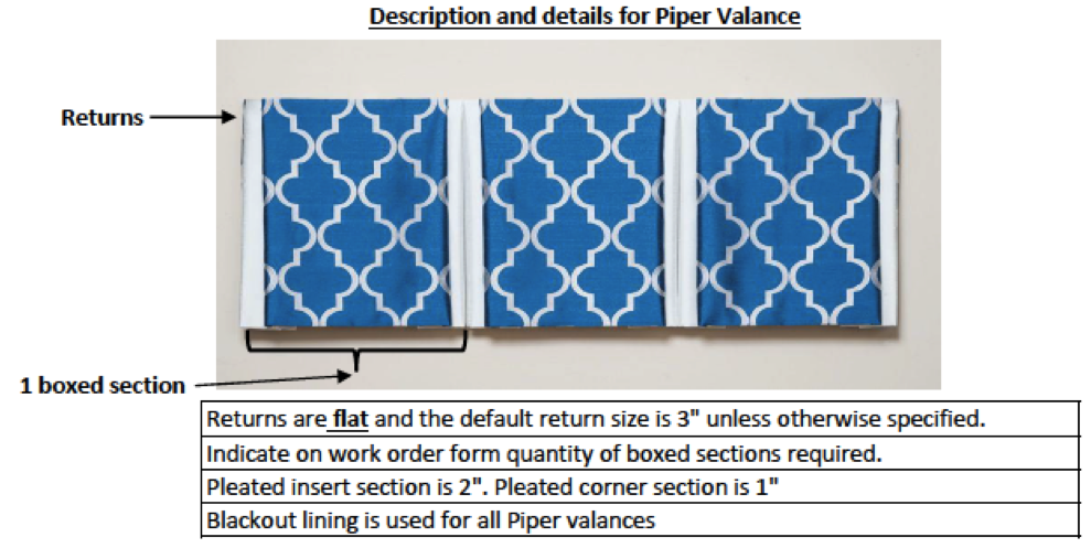 Trendy Drapery - DT Piper Valance