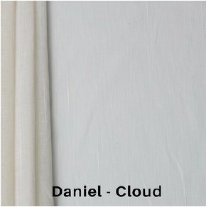 Sheer Fabric Daniel Cloud