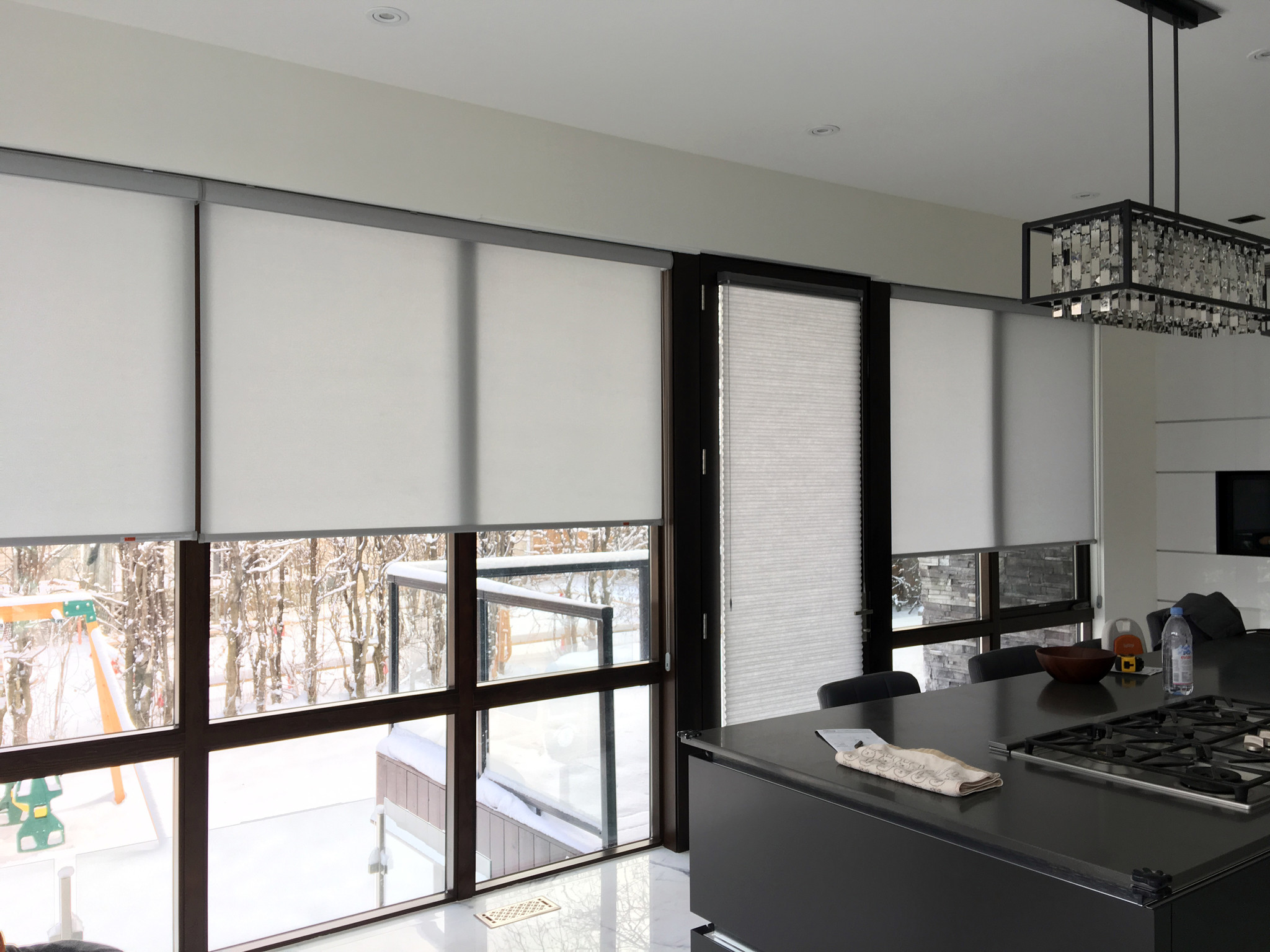 Roller Shades Kitchen