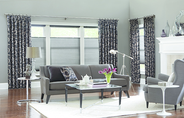 Side Panel Drapes and Shades
