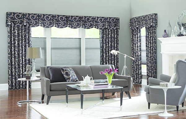 Side Panel Drapes Valances and shades