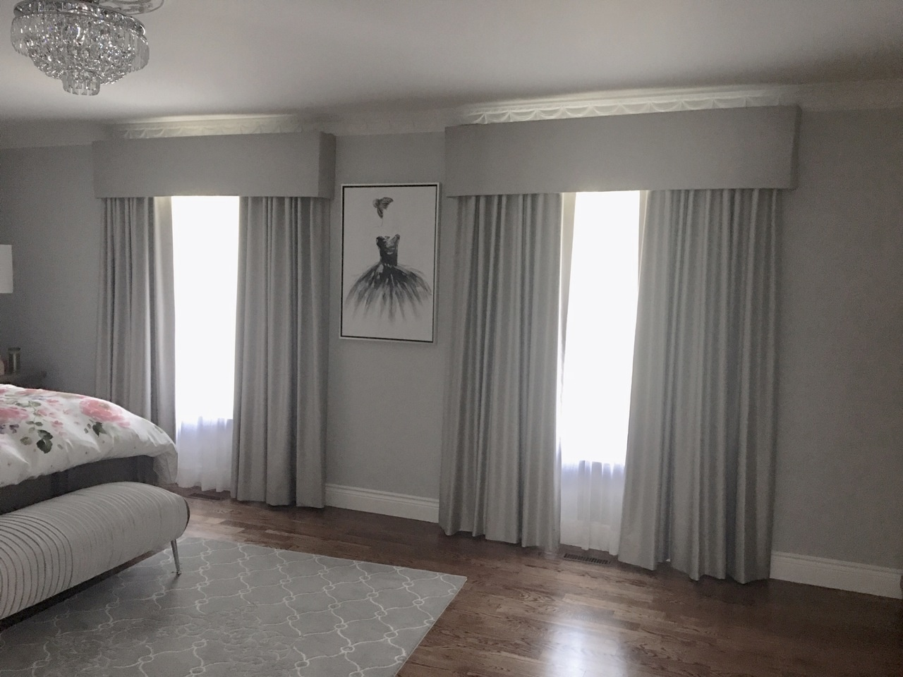 Box Valance For Bedroom