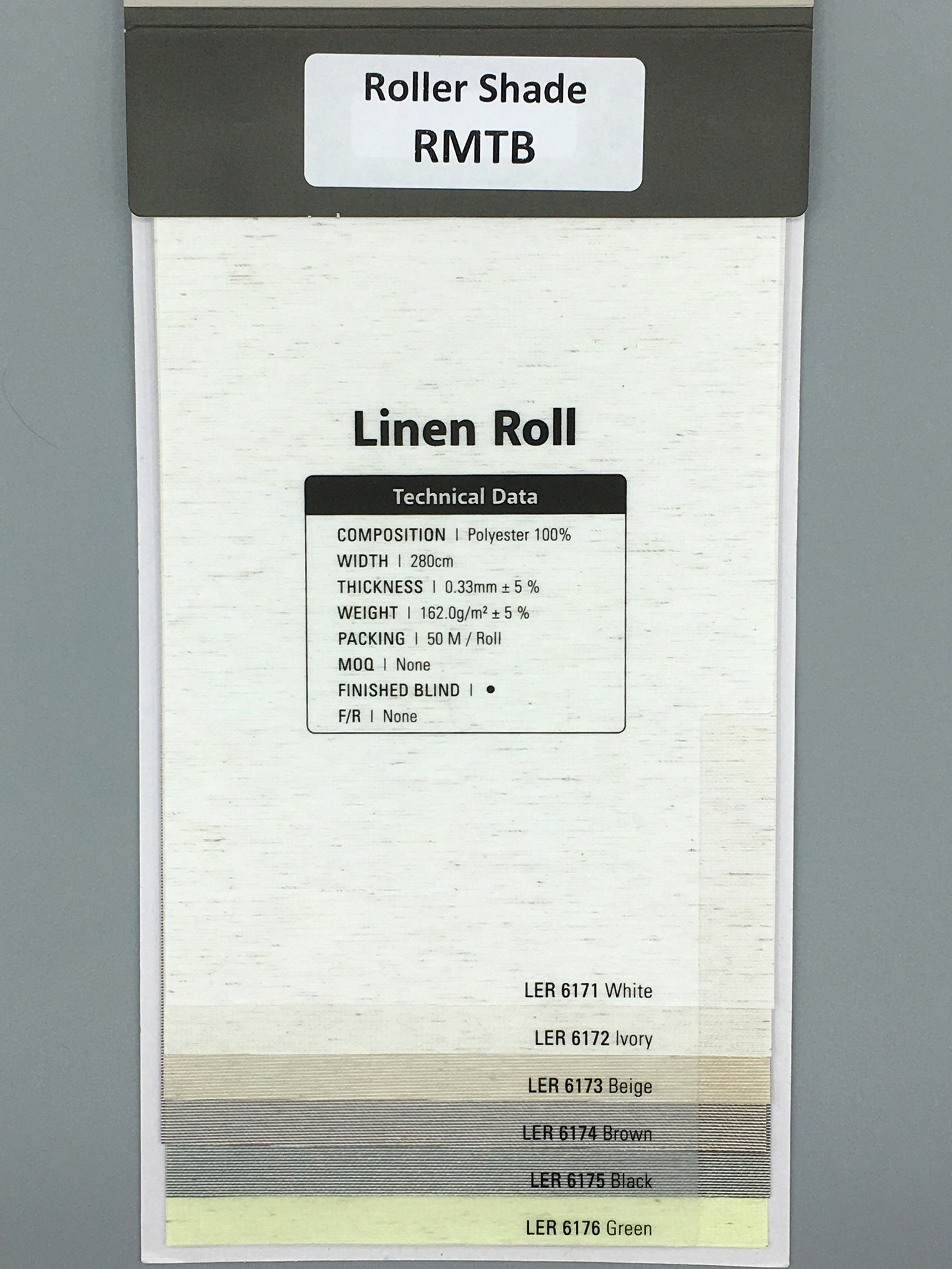 Trendy Blinds Linen Roll [RMTB-LER]