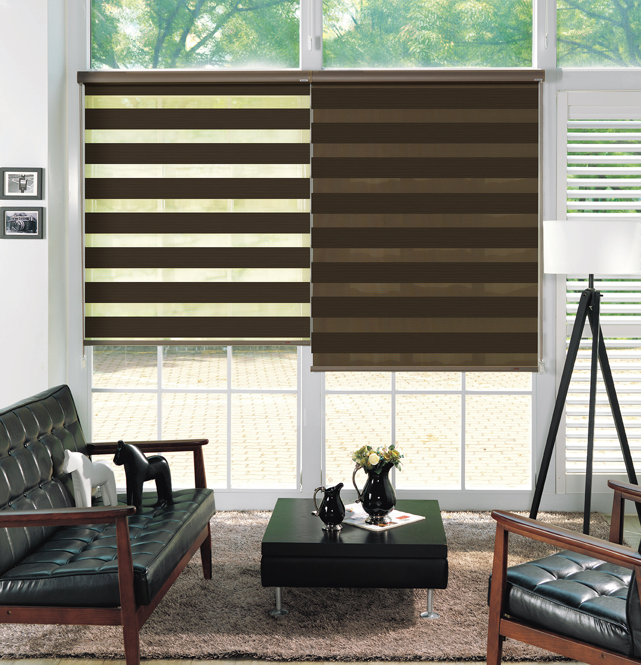 Trendy Blinds - MT Twin Amber [TWNC-AB]