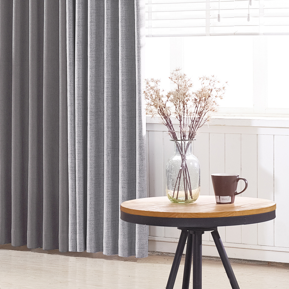 Trendy Drapery Wave Fold Custom Drape Panel (cover width 2-5 ft) - length up to 118 inches