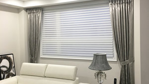 Blinds and Drapery Combination - Best of Both Worlds