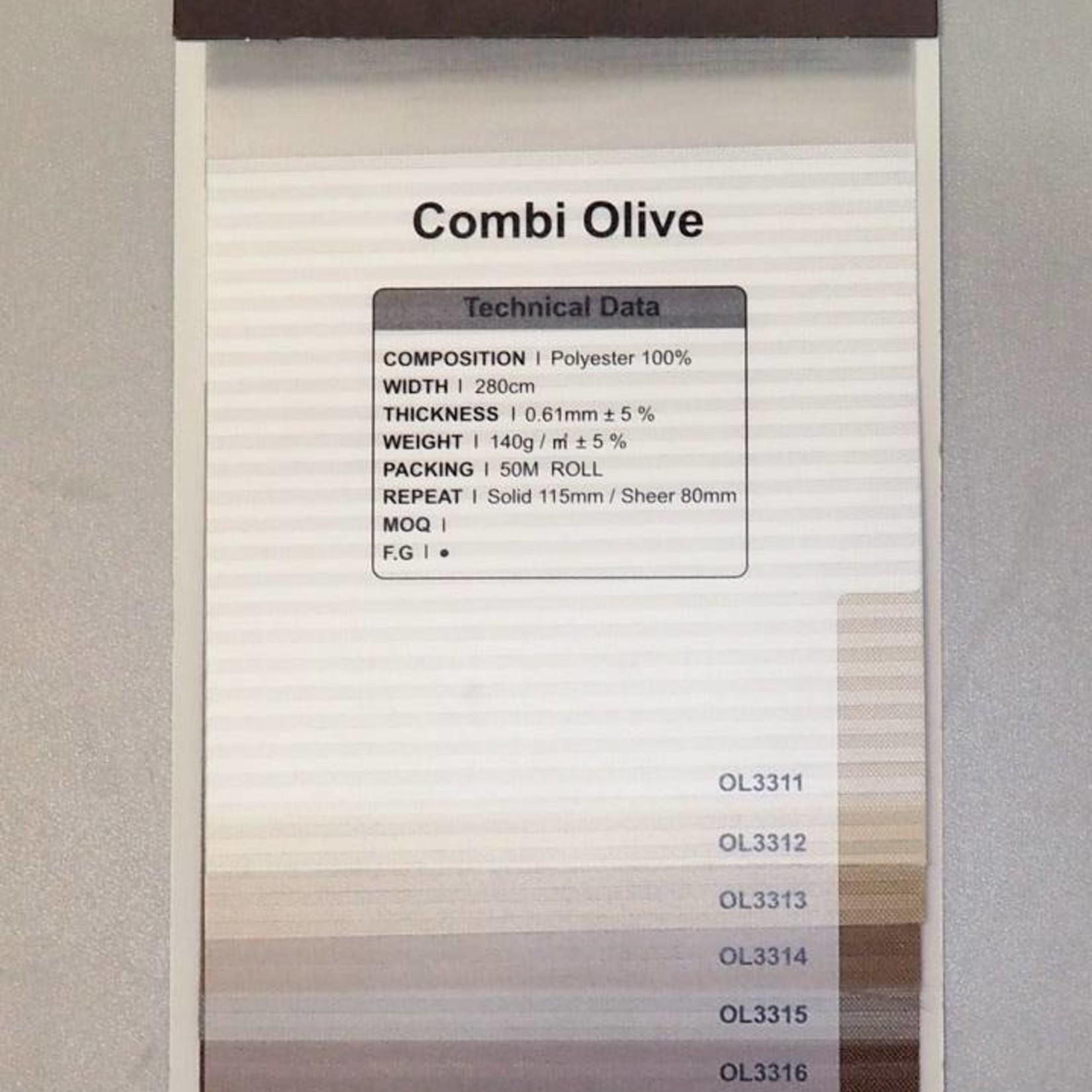 Trendy Blinds Combi Olive