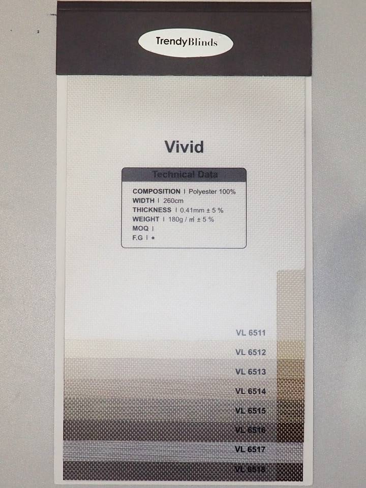 Trendy Blinds Vivid Roller [RMTB-VL]