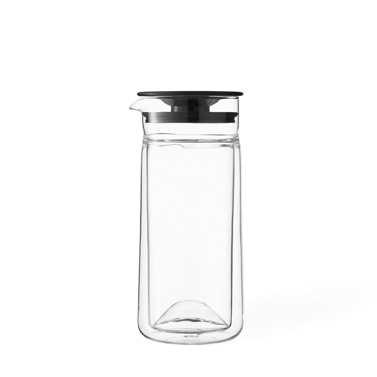 Carafe double paroi en verre Minima™