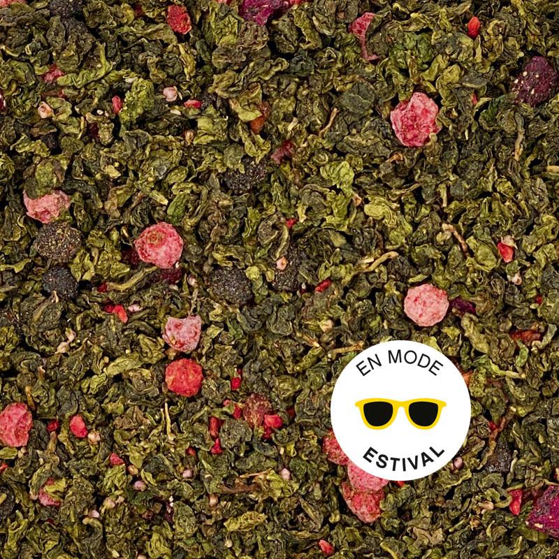 Pitaya-Raspberry oolong