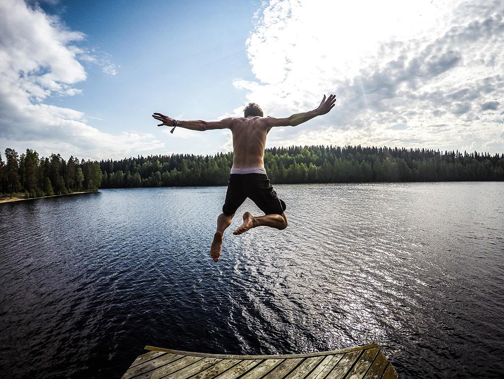 Les secrets d'été de Monsieur T.: baignade