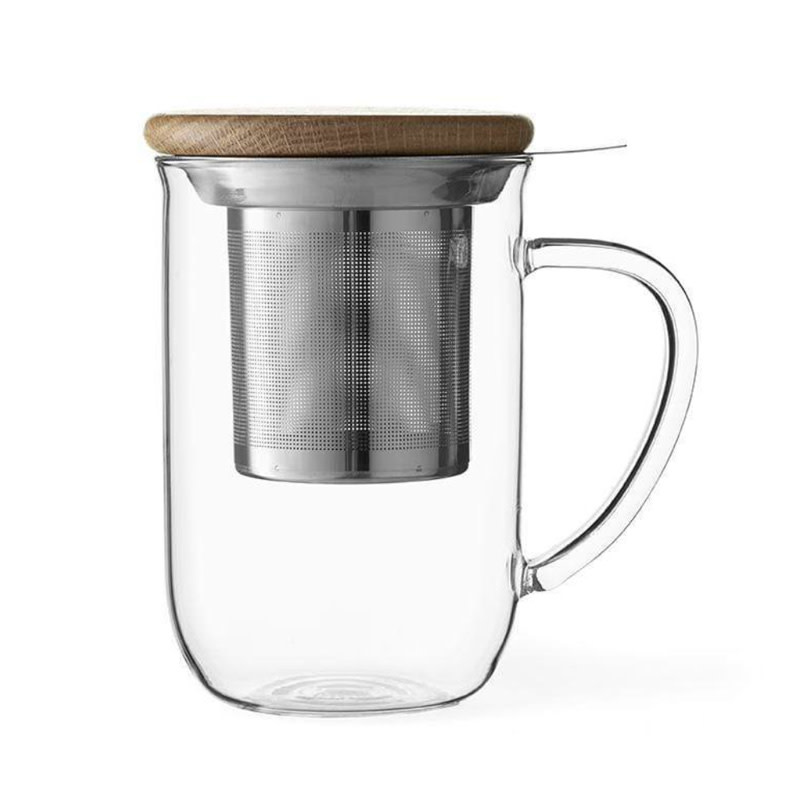 Minima™ Balance glass tea mug