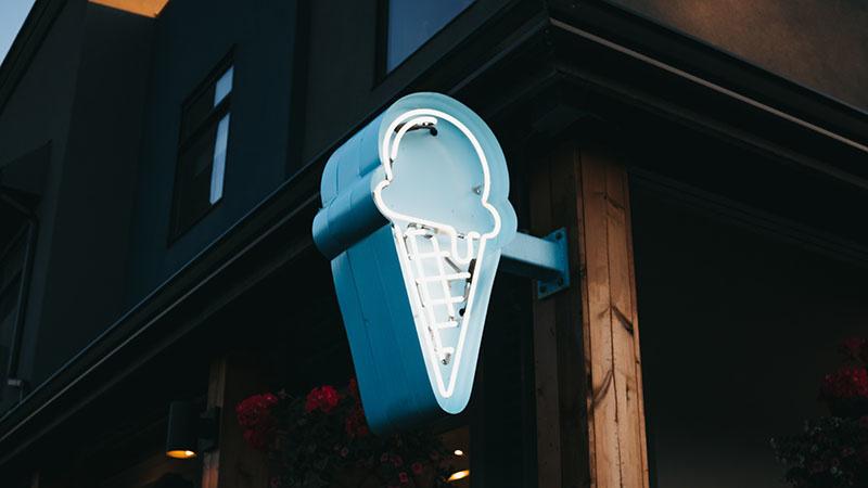Les secrets d'été de Monsieur T.: crème glacée