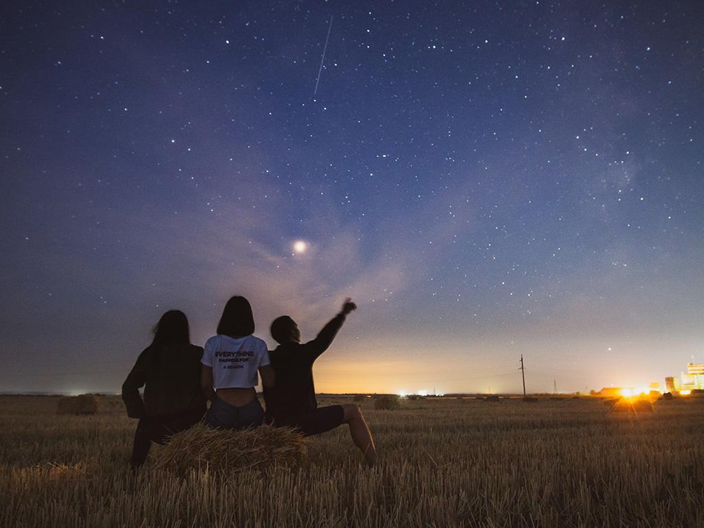 Les secrets d'été de Monsieur T.: étoiles filantes