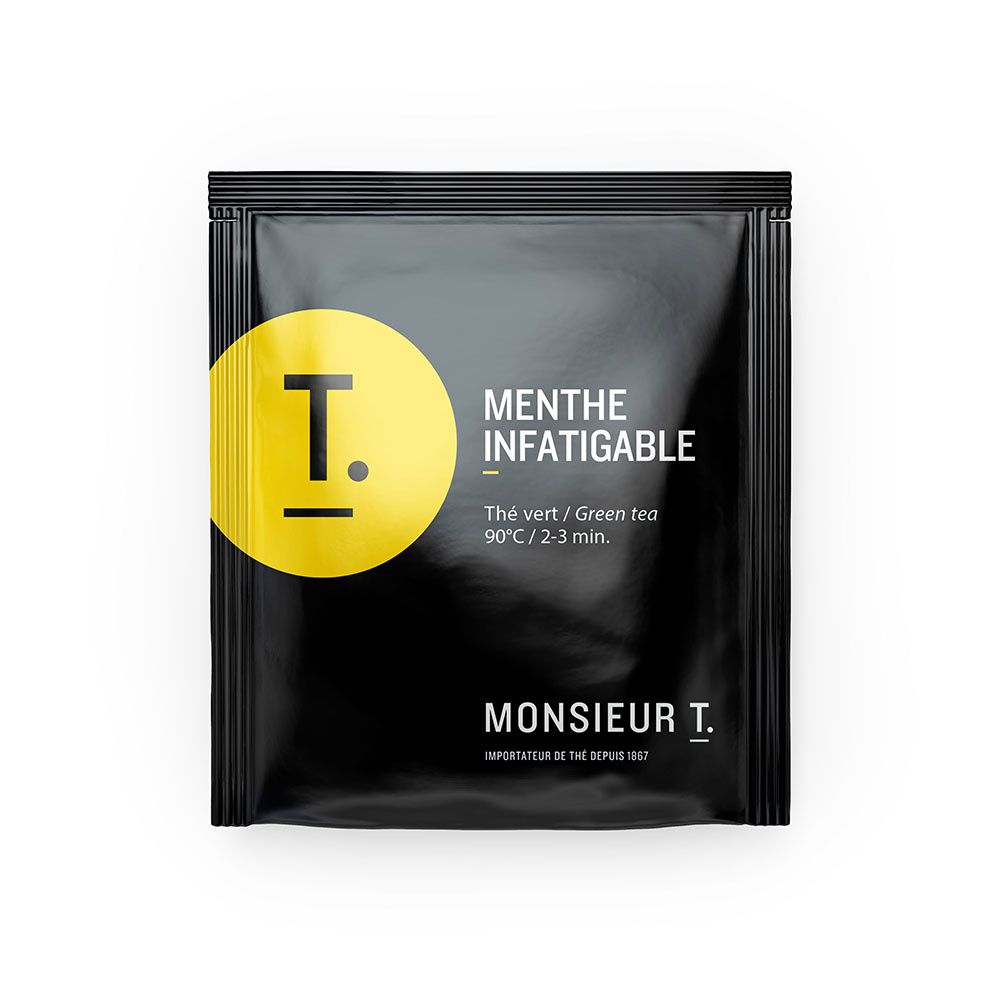 Box of 15 sachets - Tireless mint