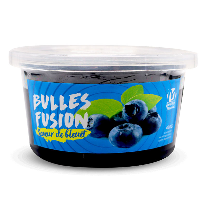 bubbleManiac Bubble T. - Blueberry